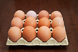 Eggs of hen