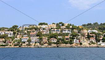 Alcudia town in Majorca