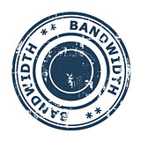 Bandwidth concept stamp