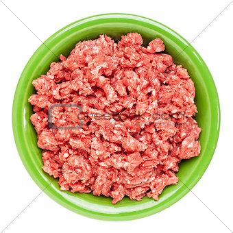 ground buffalo meat