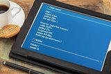 designing webpage format