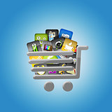 Shopping trolley full applications