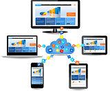 Cloud computing concept design