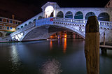 Venice Italy Rialto bridge view