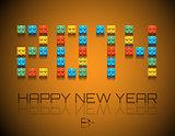 2014 Happy New Year background