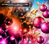 2014 Happy new year Party background