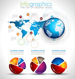 Collection of quality Infographics objects