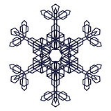 Crystal Graphic Snowflake