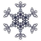 Crystal Graphic Snowflake