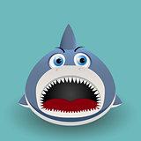 Cute baby shark