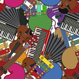 Musical instruments tile