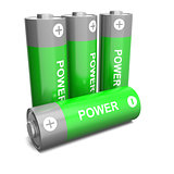 Power batteries