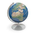 Topographic globe