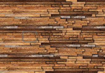 abstract pattern of wooden floor