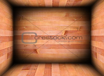 abstract wooden interior for background