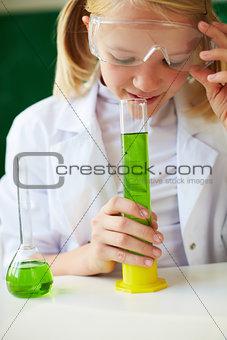 Smelling liquid