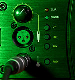 Amplifier Control Panel