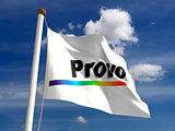 Utah Provo City Flag