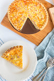 Spam And Cheese Quiche