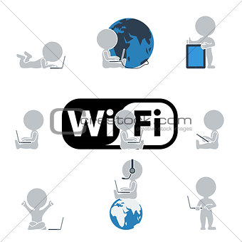 Flat people - Internet and technology