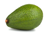 Green ripe avocado