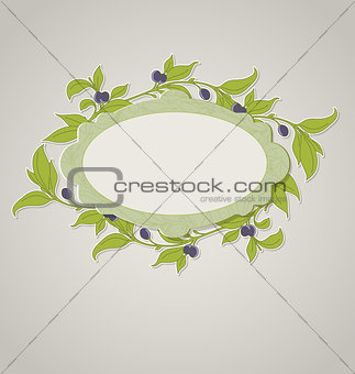 Green olive banner