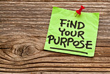 find your purpose reminder