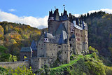 medieval castle Eltz, located on the mountain in Germany