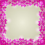 Pink Abstract Shiny Frame