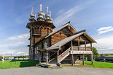 Wooden church at Kizhi, Russia