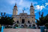 Central square in Santiago de Cuba