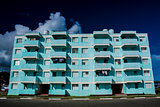 House on seafront in Baracoa, Cuba