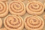 Spiral hazelnut cookies