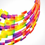 Multicolor abstract bright background. Elements for design. Eps1