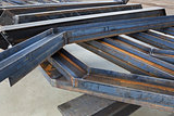 welded metal beams