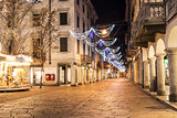 Varese, Corso Matteotti night photography