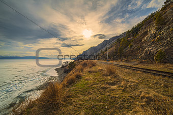 Spring on the Circum-Baikal Road