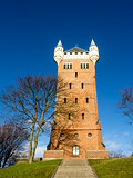 The old water tower, Esbjerg, Denmark