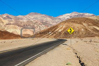 Travel in the desert