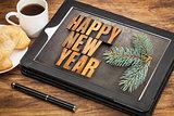 happy new year breakfast