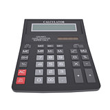 Black calculator