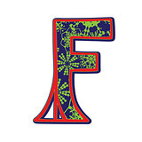 winter letter F