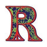 winter letter R