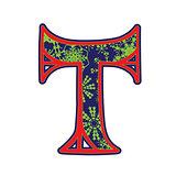 winter letter T