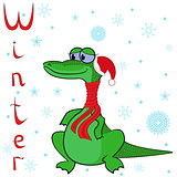 Why Crocodile is so cold in winter?