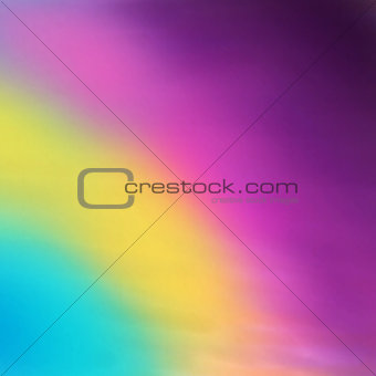 Abstract blurred vector background. Rainbow colors sky