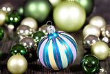 festive glitter christmas decoration bauble seasonal