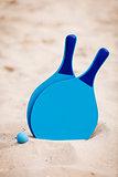 still life beachball in summer on the beach vacation