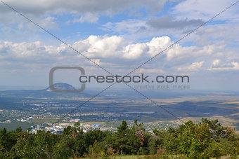 Kislovodsk from height of bird's flight