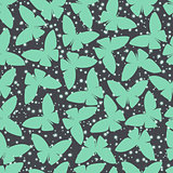 seamless pattern or abstract butterfly in vector style